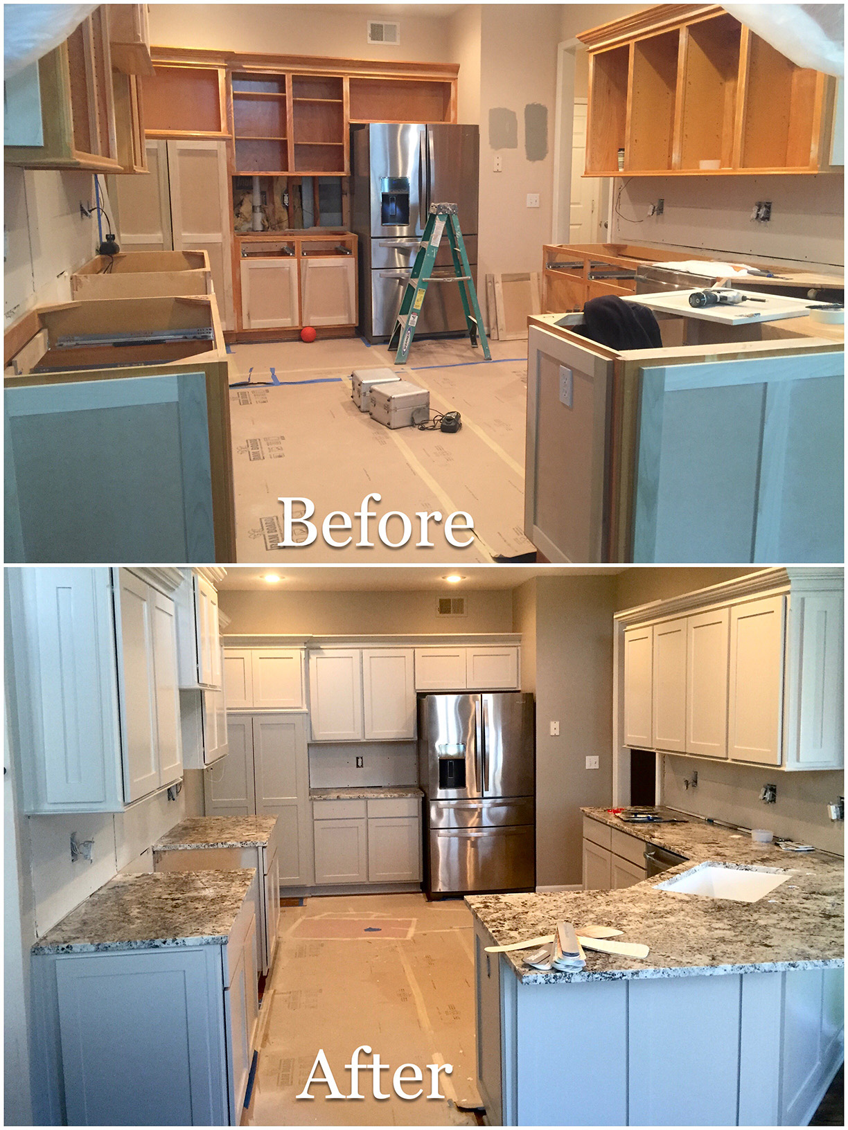 Kitchen Cabinet Painting in Kansas City