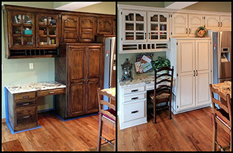 Cabinet Repainting in Kansas City